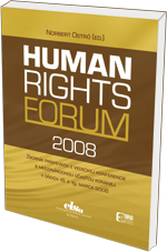 Human rights forum 2008